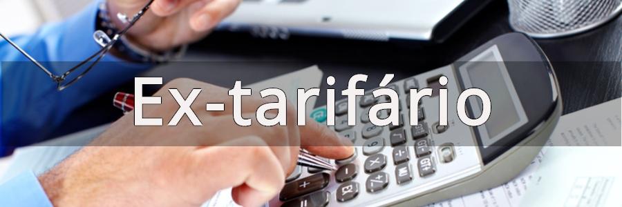 Regime Ex-tarifário